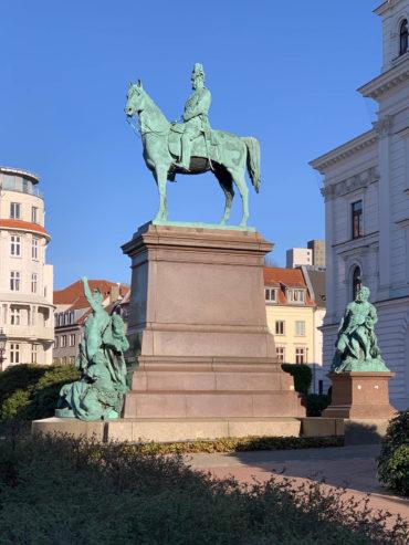 Gustav Eberlein: Denkmal für Kaiser Wilhelm I. (Foto: Hilke Oberländer, 2019)