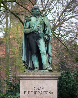 Franz Bernhard Schiller: Denkmal für Graf Blücher (Foto: KUNST@SH/Jan Petersen, 2019)