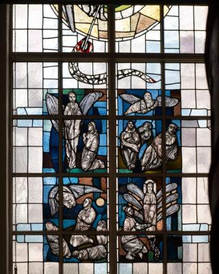 Hans-Gottfried von Stockhausen: Buntglasfenster (Foto: KUNST@SH/Jan Petersen, 2019)