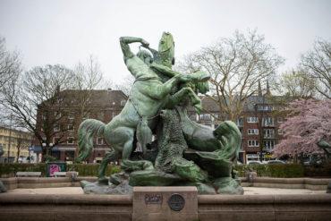 Paul Türpe: Stuhlmannbrunnen (Foto: KUNST@SH/Jan Petersen, 2019)