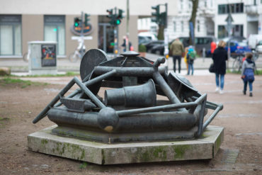 Detlef Birgfeld: Brunnen (Foto: KUNST@SH/Jan Petersen, 2019)