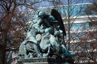 Johannes Schilling: Kriegerdenkmal 1870/71 (Foto: KUNST@SH/Jan Petersen, 2019)