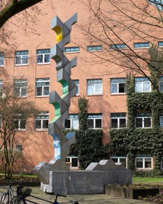 Hans-Joachim Frielinghaus: Stele (Foto: KUNST@SH/Jan Petersen, 2019)
