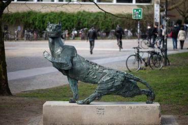 Hans Martin Ruwoldt: Panther (Foto: KUNST@SH/Jan Petersen, 2019)