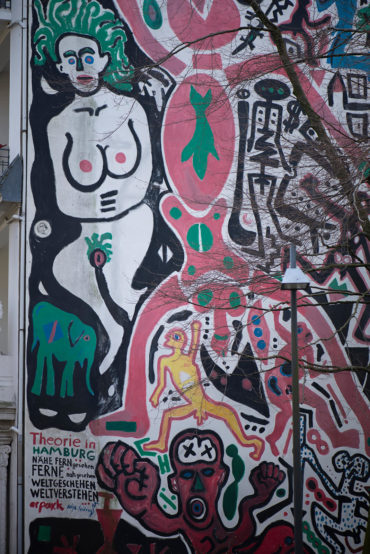 A. R. Penck: Theorie in Hamburg (Foto: KUNST@SH/Jan Petersen, 2019)