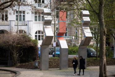 Hans-Joachim Frielinghaus: Dreiteiliges Objekt (Foto: KUNST@SH/Jan Petersen, 2019)