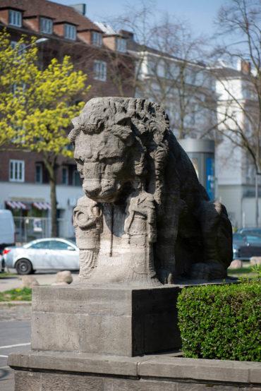 Johann Michael Bossard: Löwen (Foto: KUNST@SH/Jan Petersen, 2019)