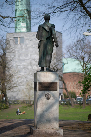 Libero Frizzi: Denkmal für Simón Bolívar (Foto: KUNST@SH/Jan Petersen, 2019)