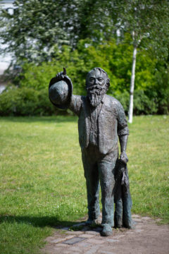 Claus Görtz: Johannes Brahms (Foto: KUNST@SH/Jan Petersen, 2019)