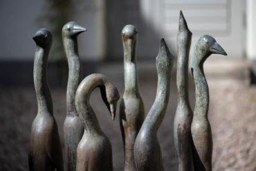Günter Grass: Sieben Vögel (Foto: KUNST@SH/Jan Petersen, 2019)