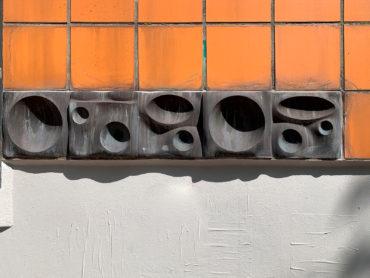 Thomas Darboven: Topographisches Relief (Foto: Hilke Oberländer, 2019)