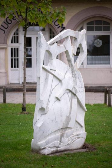 Pierre Schumann: Möwen an der Mole (Foto: KUNST@SH/Jan Petersen, 2019)