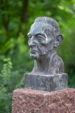 Hinrich Jepsen: Denkmal für Günther Behschnitt (Foto: KUNST@SH/Jan Petersen, 2019)