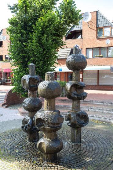 Veronika Schlüter-Stoll: Marktbrunnen (Foto: KUNST@SH/Jan Petersen, 2019)