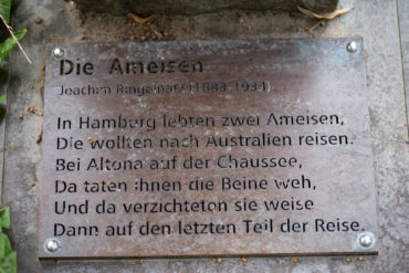 Peter Schröder: Die Ameisen (Foto: KUNST@SH/Jan Petersen, 2019)