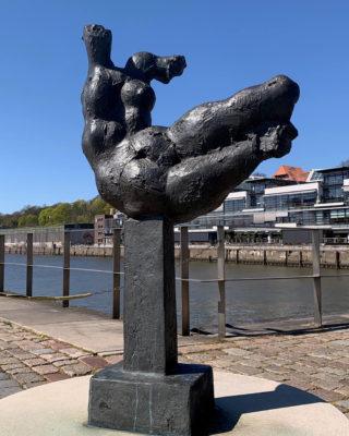 Wieland Förster: Die Elbe (Foto: KUNST@SH/Jan Petersen, 2020)