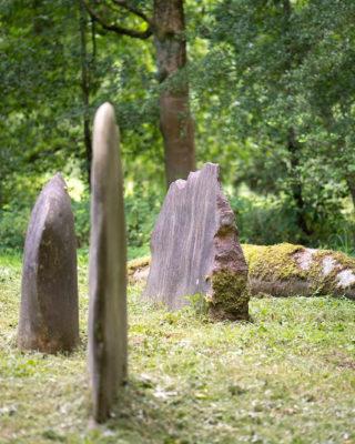 Leo Kornbrust: Organische Formen aus Stein (Foto: KUNST@SH/Jan Petersen, 2019)