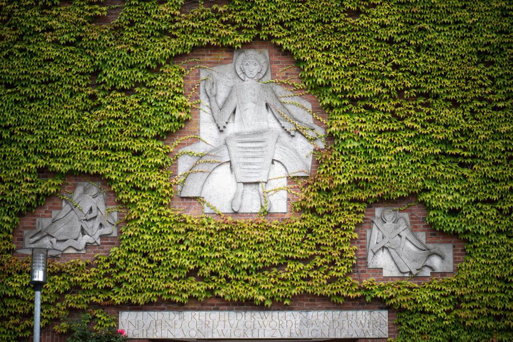 Ursula Querner: Drei Reliefs (Foto: KUNST@SH/Jan Petersen, 2019)