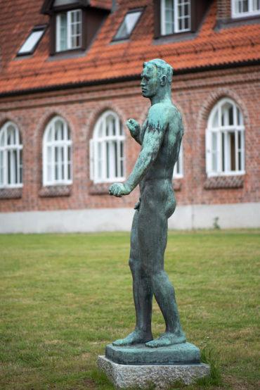 Georg Kolbe: Junger Streiter (Foto: KUNST@SH/Jan Petersen, 2019)