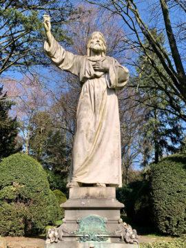 Xaver Arnold: Christusfigur (Foto: KUNST@SH/Jan Petersen, 2020)
