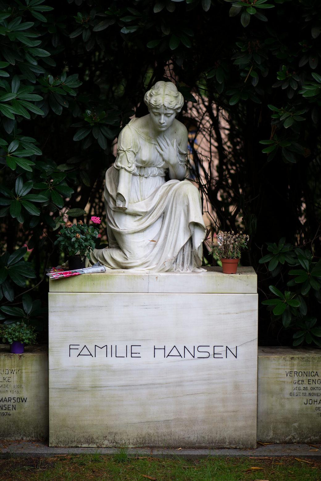 Hans Dammann: Grabmal Hansen (Foto: KUNST@SH/Jan Petersen, 2019)