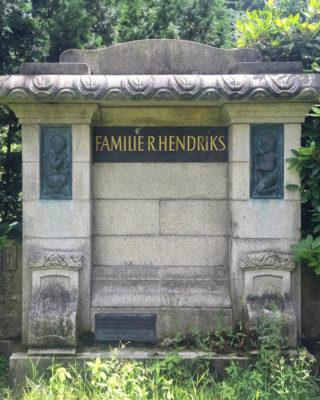Martin Feddersen und Neumann: Grabmal Hendriks (Foto: Hilke Oberländer, 2016)