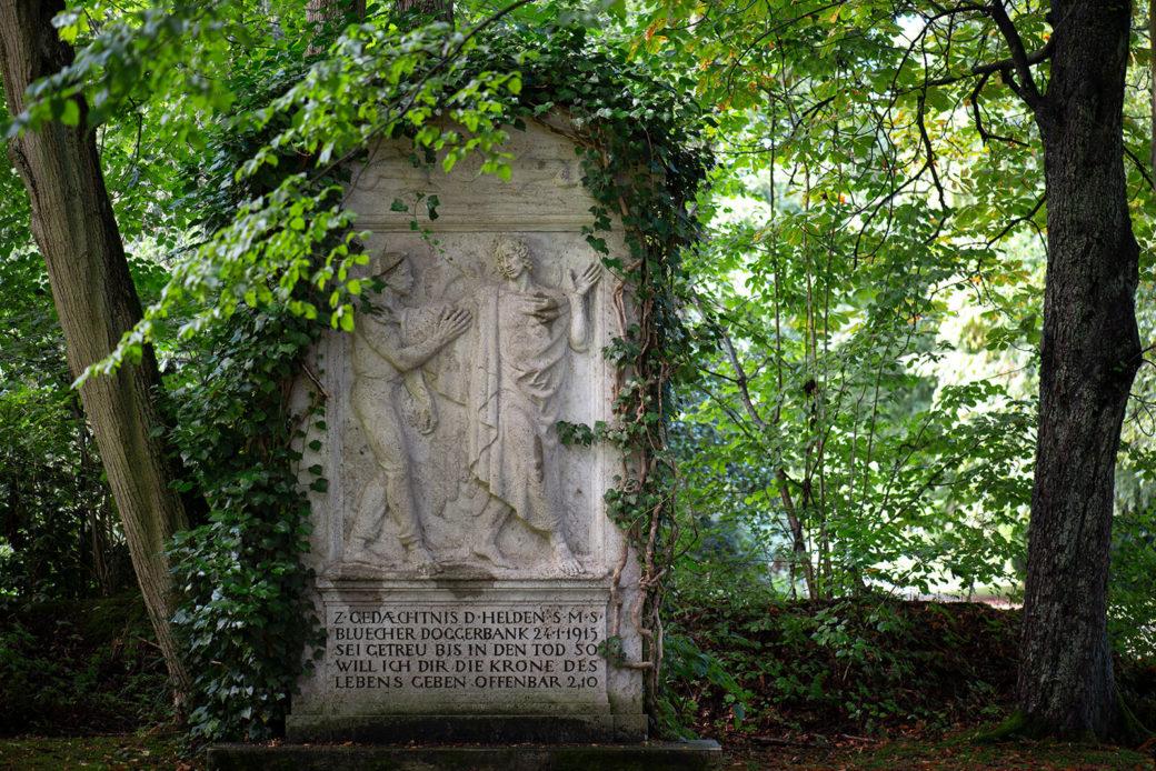 Gedenkstätte für S.M.S Blücher (Foto: KUNST@SH/Jan Petersen, 2019)