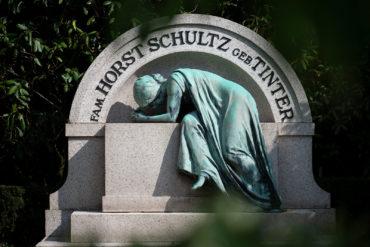 Grabmal Schultz (Foto: KUNST@SH/Jan Petersen, 2019)