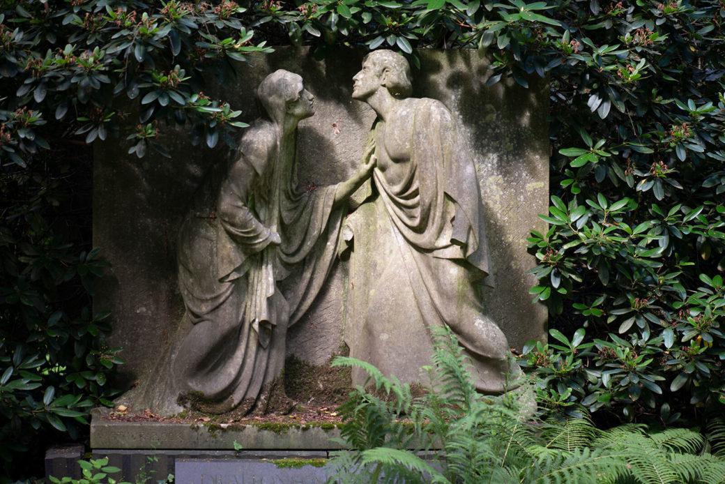 Arthur Bock: Grabmal Mittelstraß (Foto: KUNST@SH/Jan Petersen, 2019)