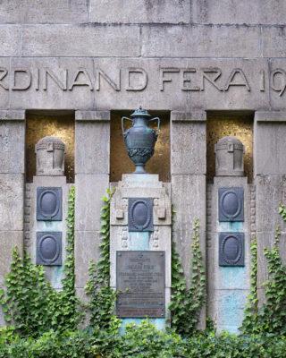 Franz Brantzky: Grabmal Fera (Foto: KUNST@SH/Jan Petersen, 2019)