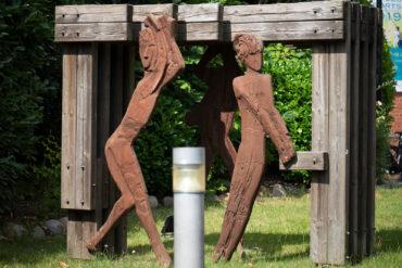 Anatol Buchholtz: Drei Figuren (Foto: KUNST@SH/Jan Petersen, 2019)