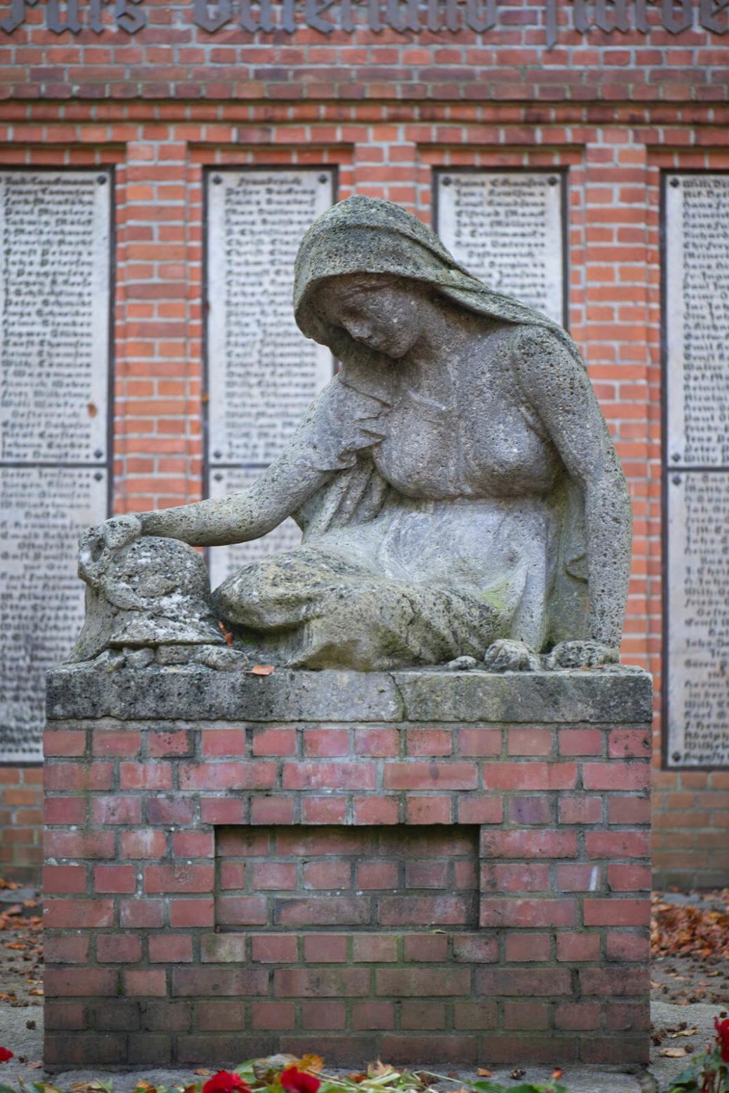 Heinrich Mißfeldt: Mahnmal für die Opfer des Ersten Weltkriegs (Foto: KUNST@SH/Jan Petersen, 2019)