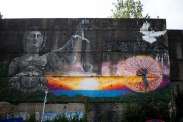 Baltic Art: Fassadengestaltung (Foto: KUNST@SH/Jan Petersen, 2019)