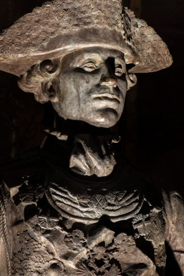 Alexander Taratynov: Denkmal für Zar Peter III. (Foto: KUNST@SH/Jan Petersen, 2020)