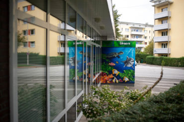Baltic Art: Gestaltung Eingangsbereich (Foto: KUNST@SH/Jan Petersen, 2019)