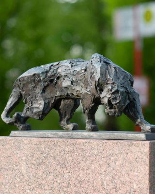 Hans Martin Ruwoldt: Tiger, (Foto: KUNST@SH/Jan Petersen, 2018)