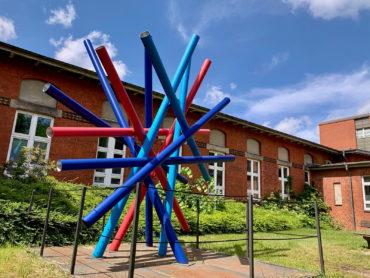 HCHS-Skulptur (Foto: Hilke Oberländer, 2019)
