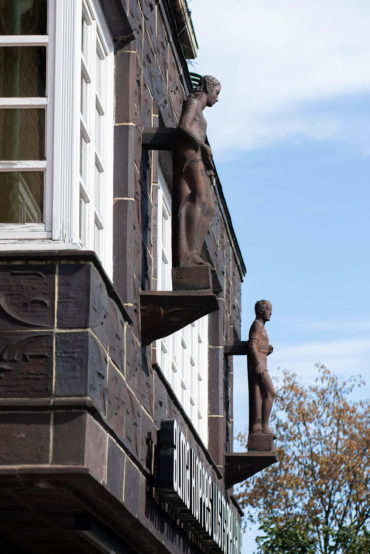 Ludwig Kunstmann: Zwei Figuren (Foto: KUNST@SH/Jan Petersen, 2019)