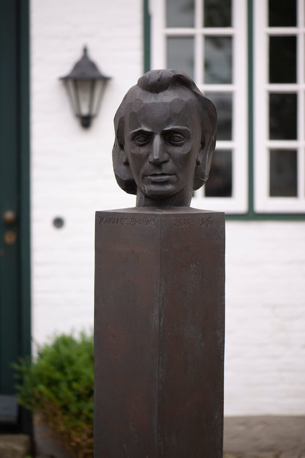 Manfred Sihle-Wissel: Denkmal für Johannes Brahms (Foto: KUNST@SH/Jan Petersen, 2019)