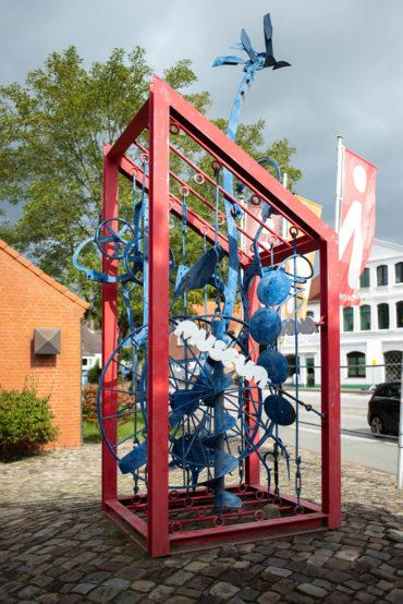 Dieter Koswig: Museumsplastik (Foto: KUNST@SH/Jan Petersen, 2019)