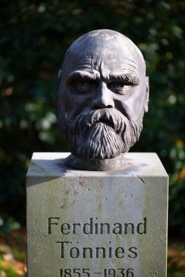 Raimund Kittl: Büste Ferdinand Tönnies (Foto: KUNST@SH/Jan Petersen, 2019)
