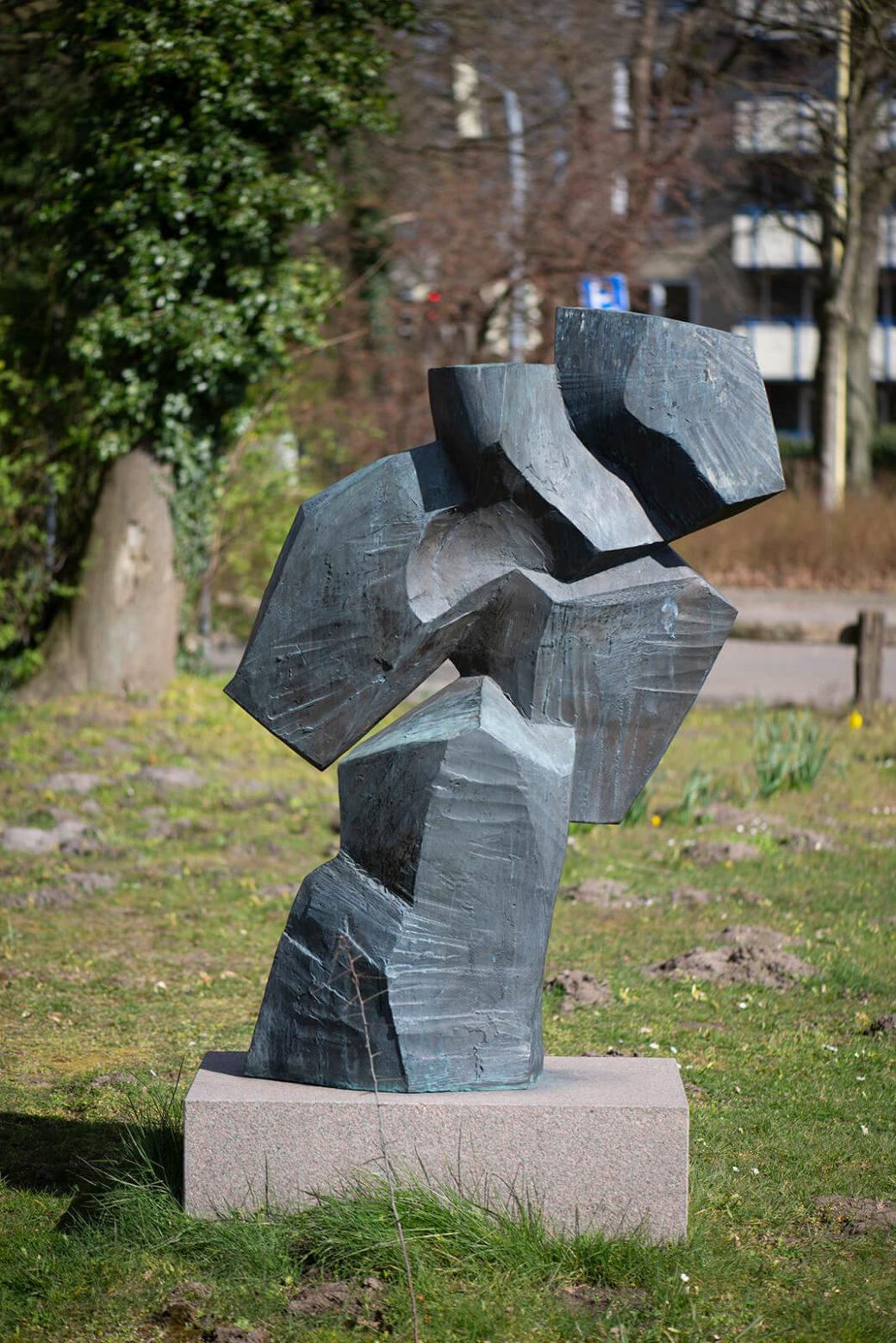 Manfred Sihle-Wissel: Bewegte Form (Foto: KUNST@SH/Jan Petersen, 2020)