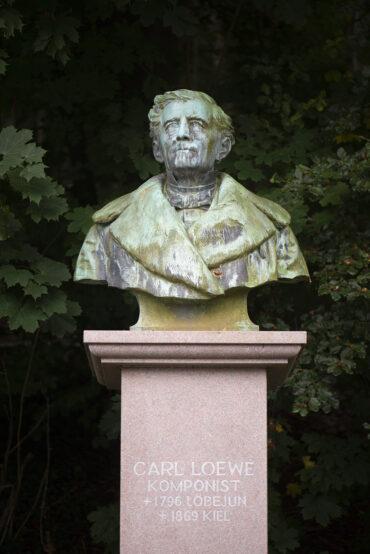 Fritz Schaper: Carl-Loewe-Denkmal (Foto: KUNST@SH/Jan Petersen, 2021)
