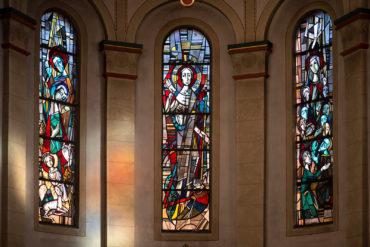 Frans Griesenbrock: Glasfenster (Foto: KUNST@SH/Jan Petersen, 2020)