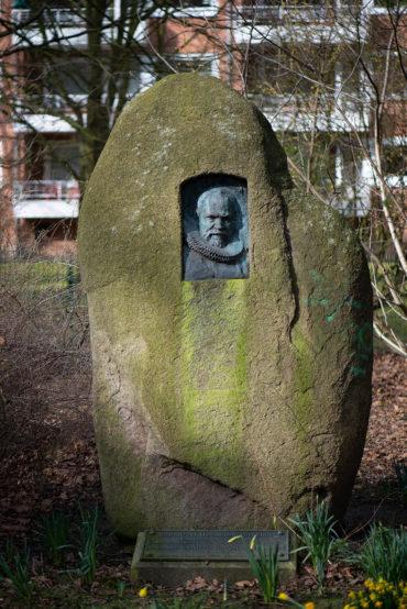 Hans Stoltenberg-Lerche: Grabmal Manchot (Foto: KUNST@SH/Jan Petersen, 2020)