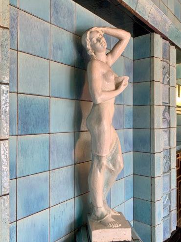 Richard Emil Kuöhl: Weibliche Figur (Foto: KUNST@SH/Jan Petersen, 2020)
