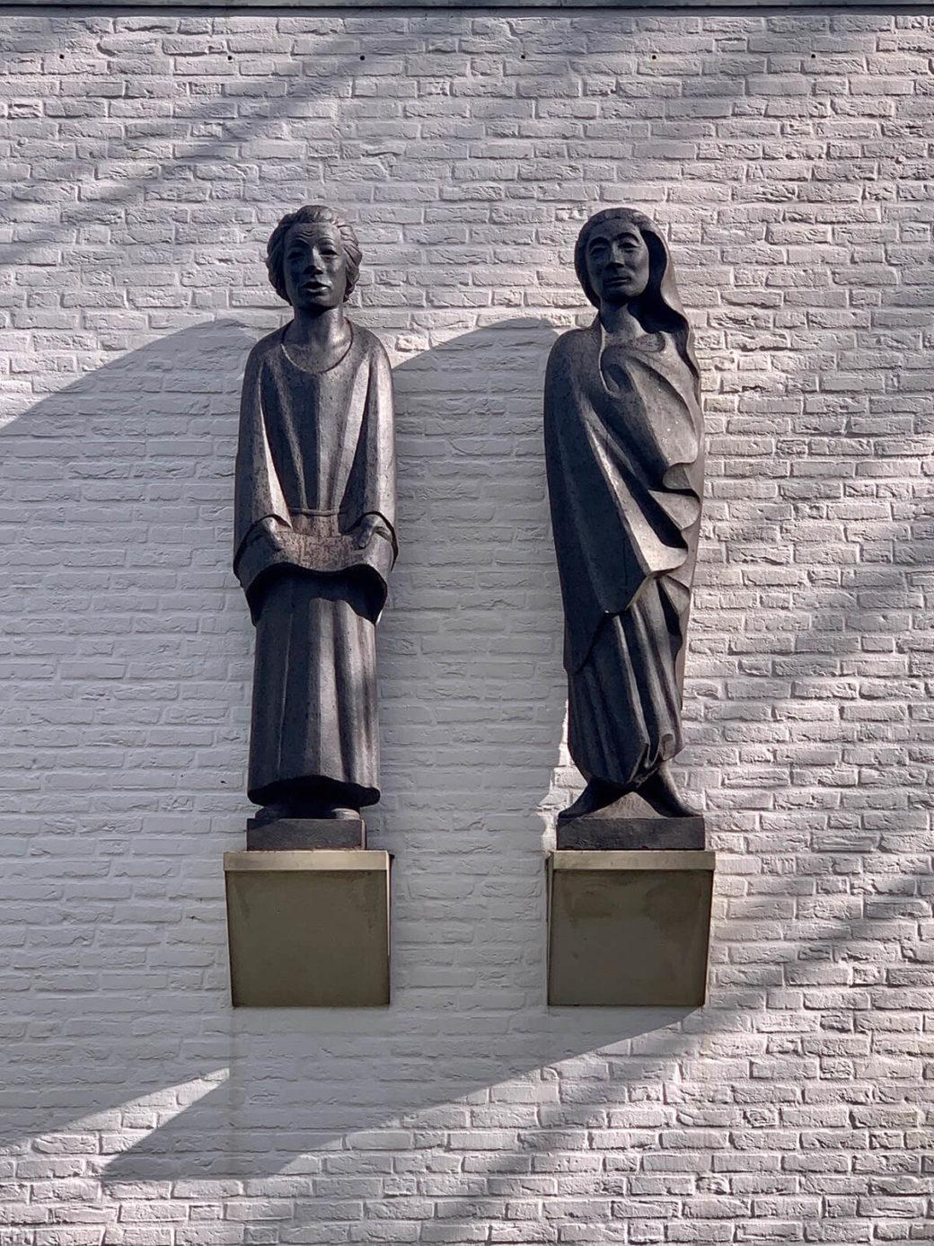 Ernst Barlach: Zwei Heilige (Foto: KUNST@SH/Jan Petersen, 2020)