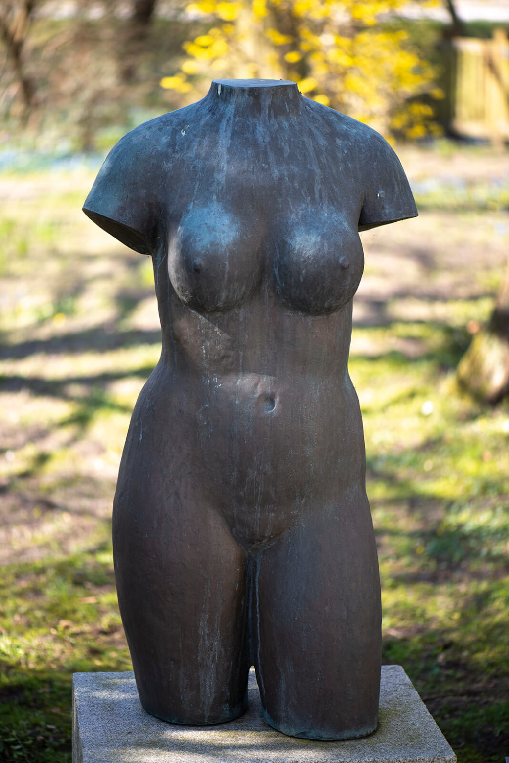 Fritz Fleer: Torso Eva (Foto: KUNST@SH/Jan Petersen, 2020)