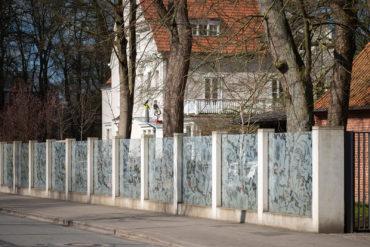 Olaf Nicolai: Hinter der Wohnzimmergardine (Foto: KUNST@SH/Jan Petersen, 2020)