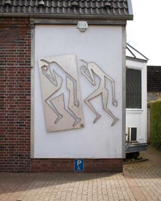 Erik Barran: Reliefs (Foto: KUNST@SH/Jan Petersen, 2020)
